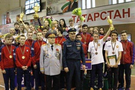 Празднование 80-летия пожарно-прикладного спорта России в Республике Татарстан