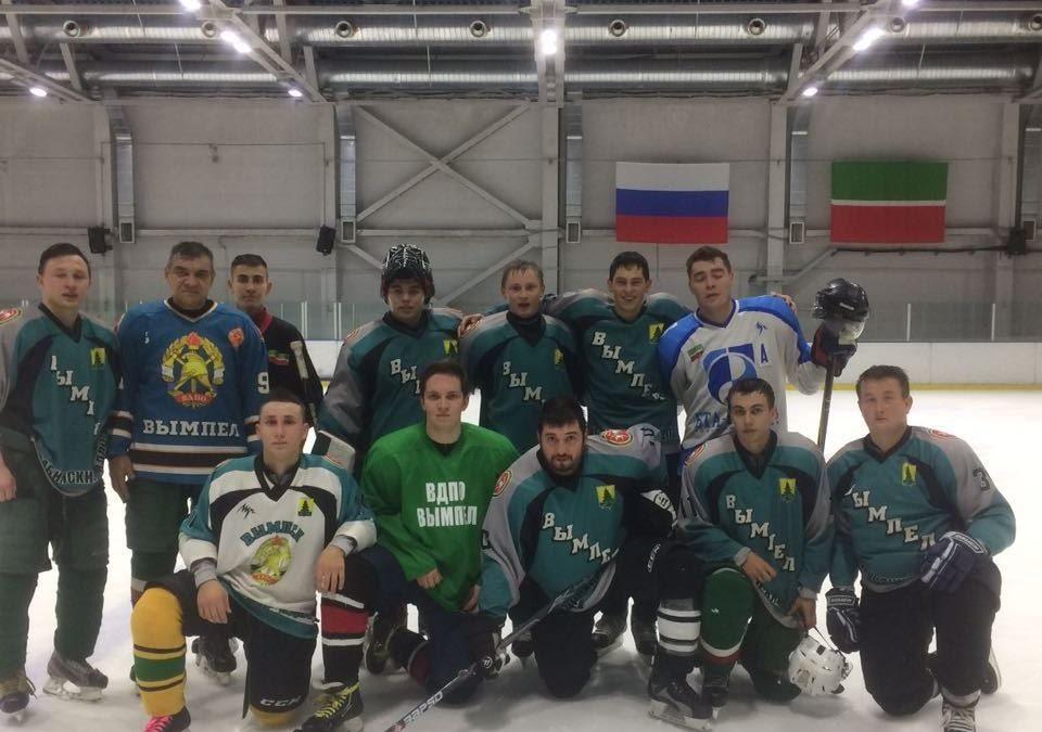 Новая хоккейная команда создана в ТРО ВДПО