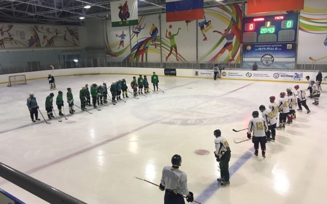 Первая победа новой хоккейной команды «ВДПО Вымпел»