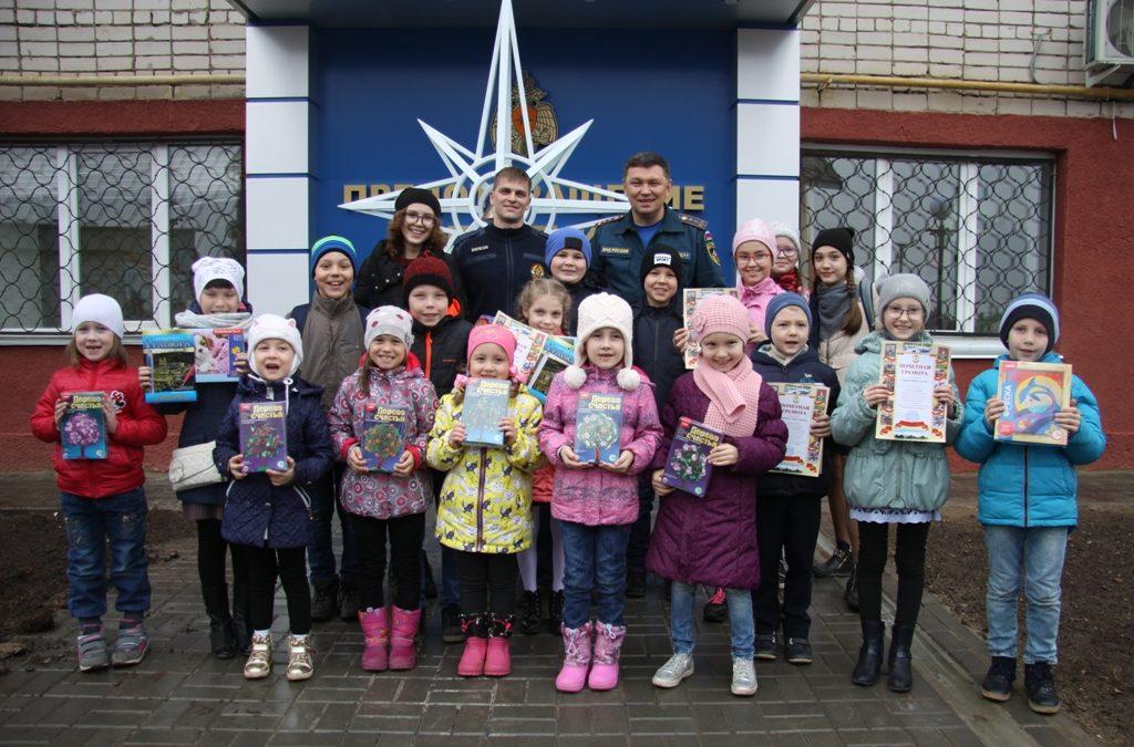 В Зеленодольске наградили победителей детского конкурса на противопожарную тематику