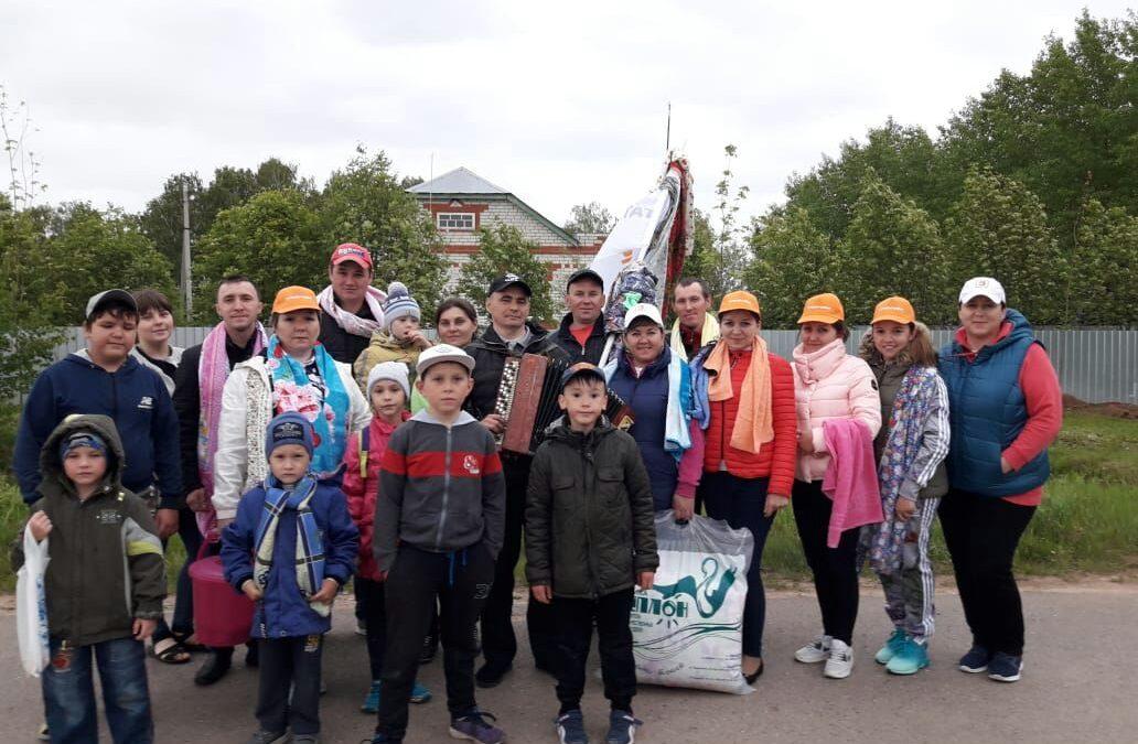 Активное участие ВДПО в мероприятиях Сабинского района