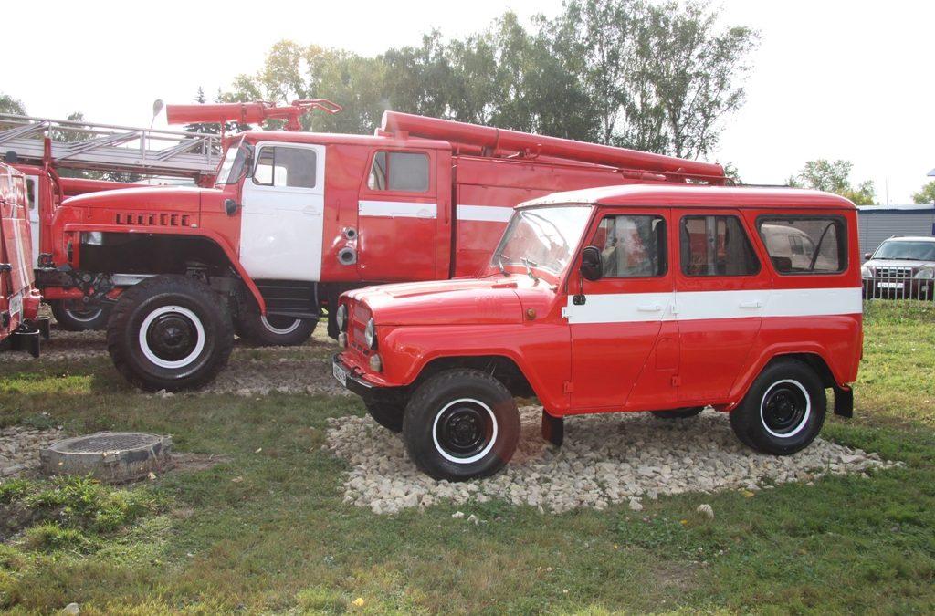 Музей пожарной техники в Зеленодольске пополнился еще двумя экспонатами