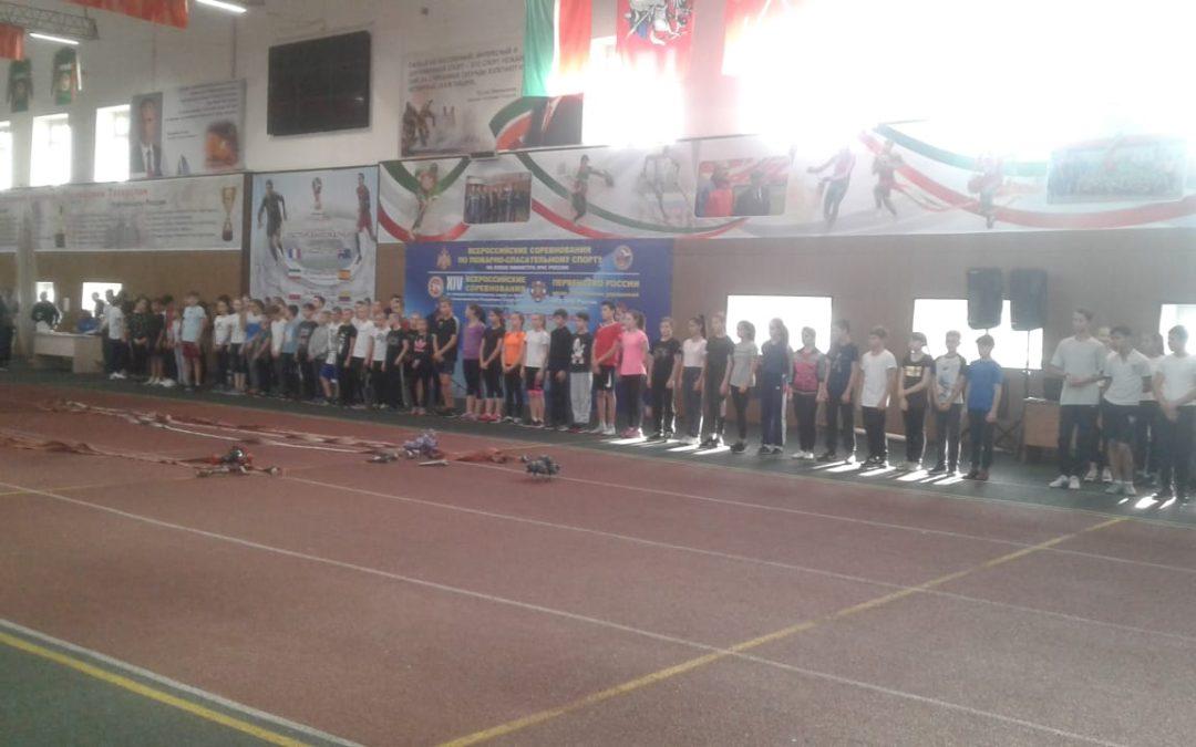 Второй день соревнований первенства Казани по пожарно-спасательному спорту