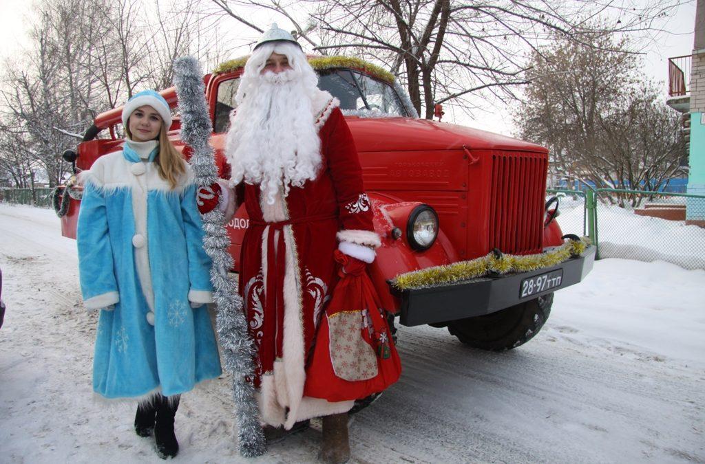 Дед Мороз – на страже безопасности!