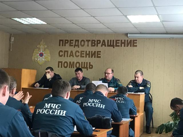 Совместное совещание ВДПО и МЧС Республики Татарстан по решению Комиссии по чрезвычайным ситуациям