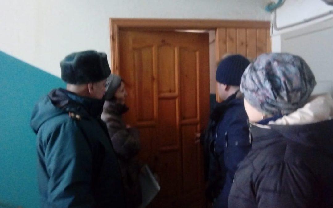 Проведение операции «Жилище» в Сабинском районе