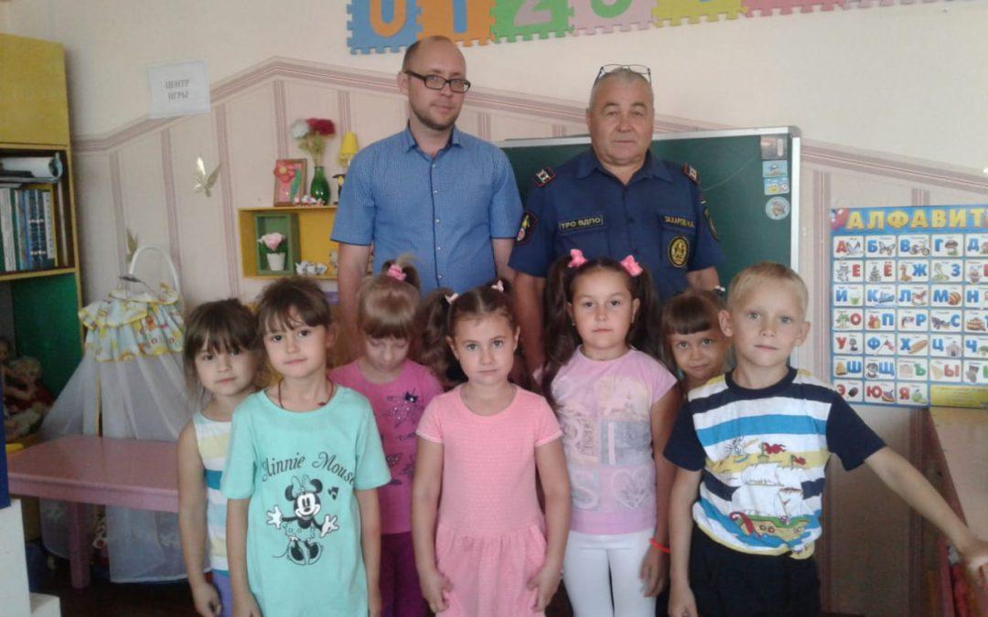 В Нурлате урок безопасности в детском саду