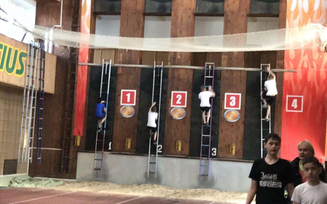 Соревнования по ППС среди школьников г.Казани в честь 370-летия пожарной охраны России