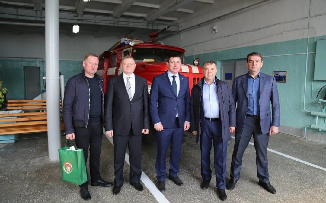 Празднование 370-летия пожарной охраны России в ПЧ «КОМЗ»