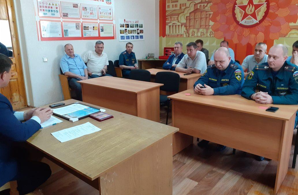 Внеочередное собрание в  Бугульминском отделении ТРО ВДПО
