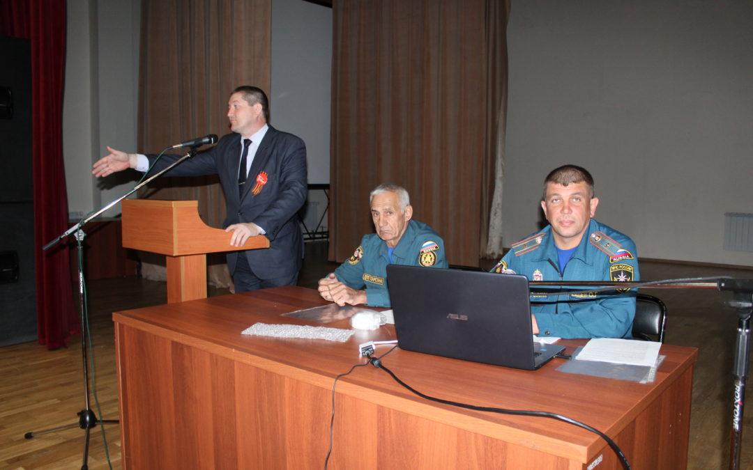 Обучение пожарной безопасности в Рыбно-Слободском районе