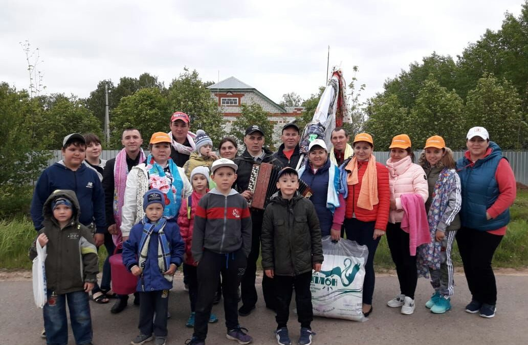 ВДПО приняло участие в Сабантуе!