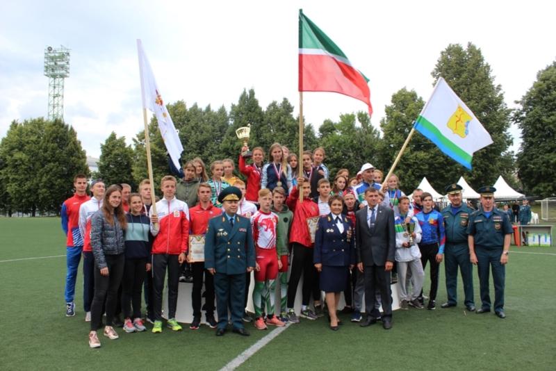 Спортсмены Татарстана — первые на Межрегиональных соревнований по пожарно-спасательному спорту