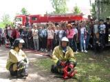 Веселые противопожарные старты в лагере!