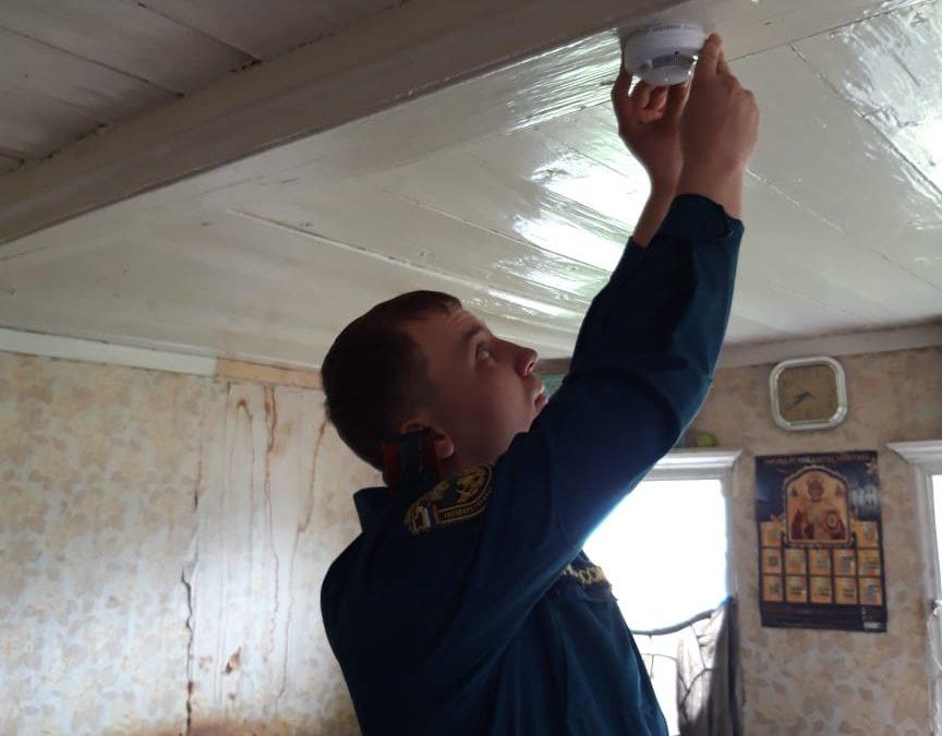 Установка пожарных извещателей в г. Заинске