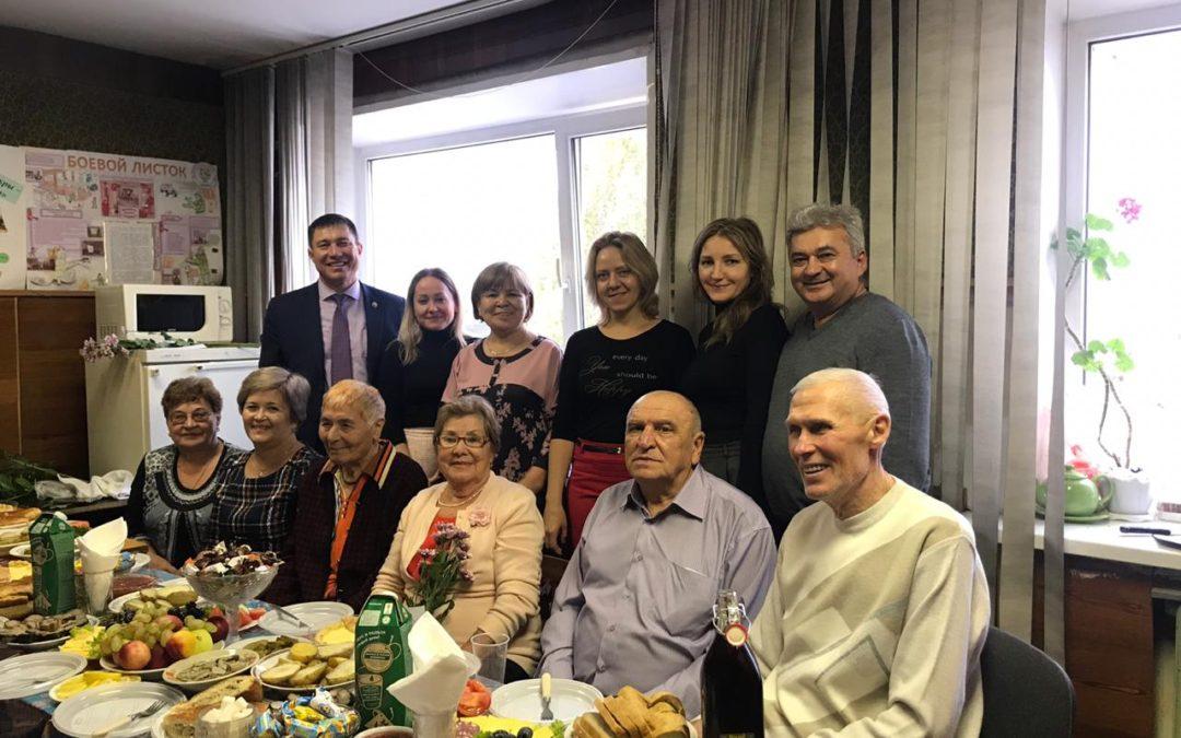 Мероприятие в честь Дня пожилого человека