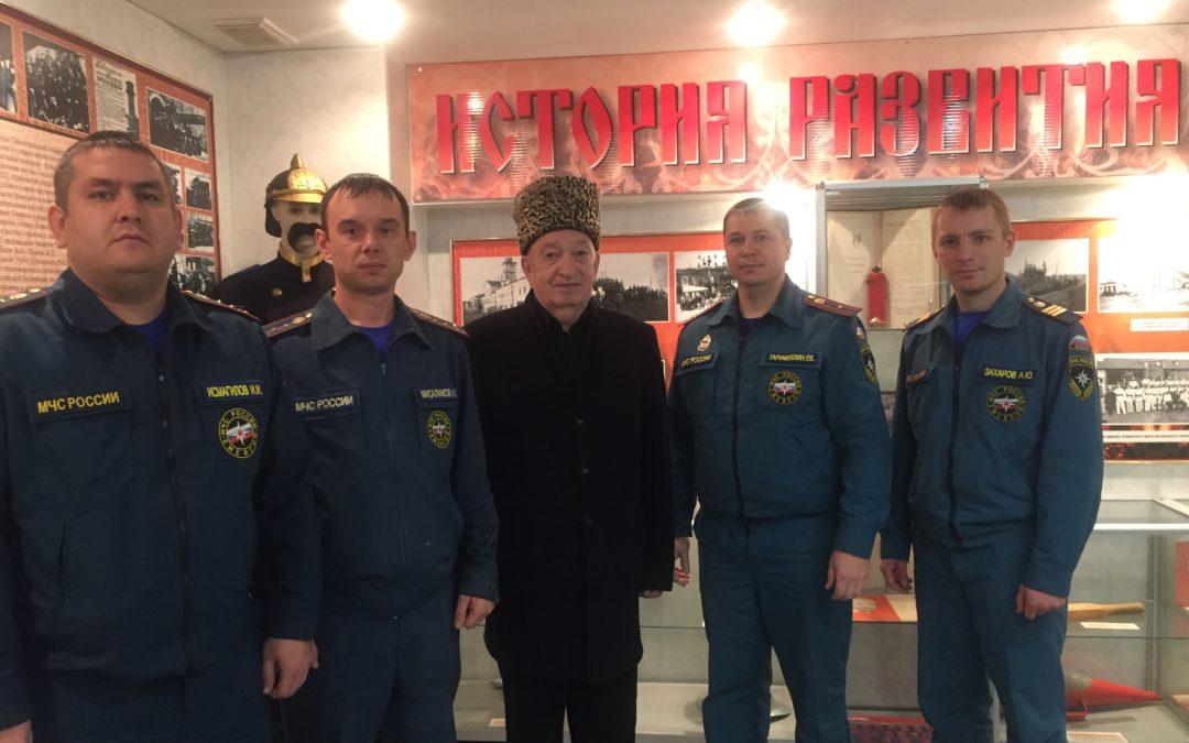Встреча с ветераном  пожарной охраны