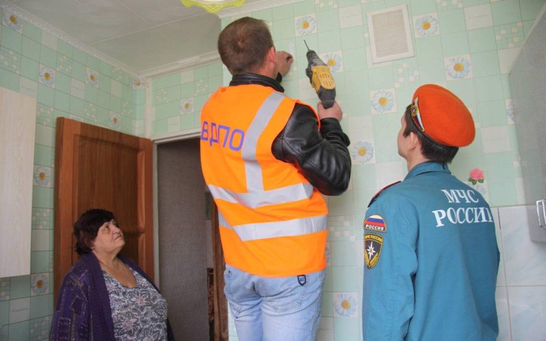 В республике Татарстан завершился очередной этап благотворительной акции по установке пожарных извещателей