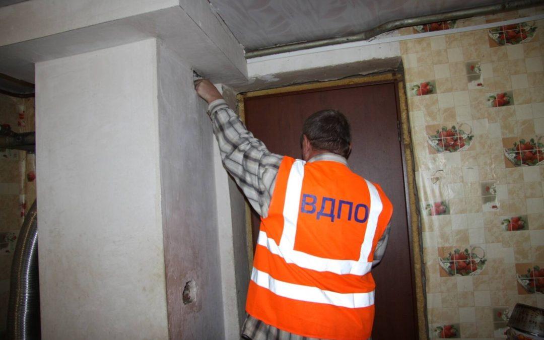 В преддверии осенне-зимнего отопительного периода работники ТРО ВДПО проводят профилактические мероприятия