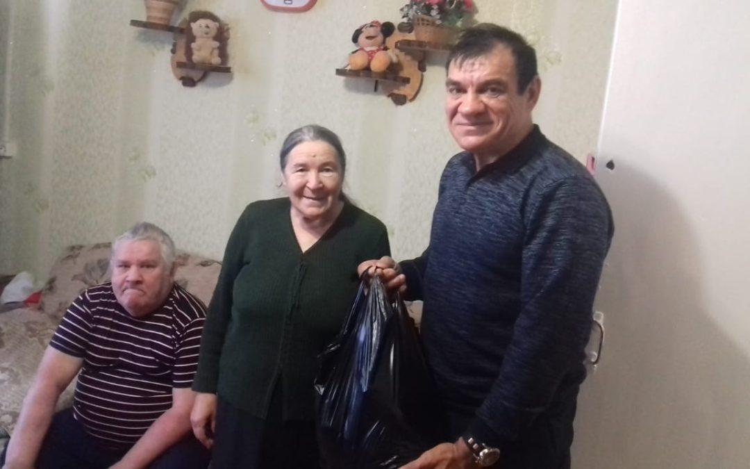 В Сабинском районе поздравили ветерана ВДПО