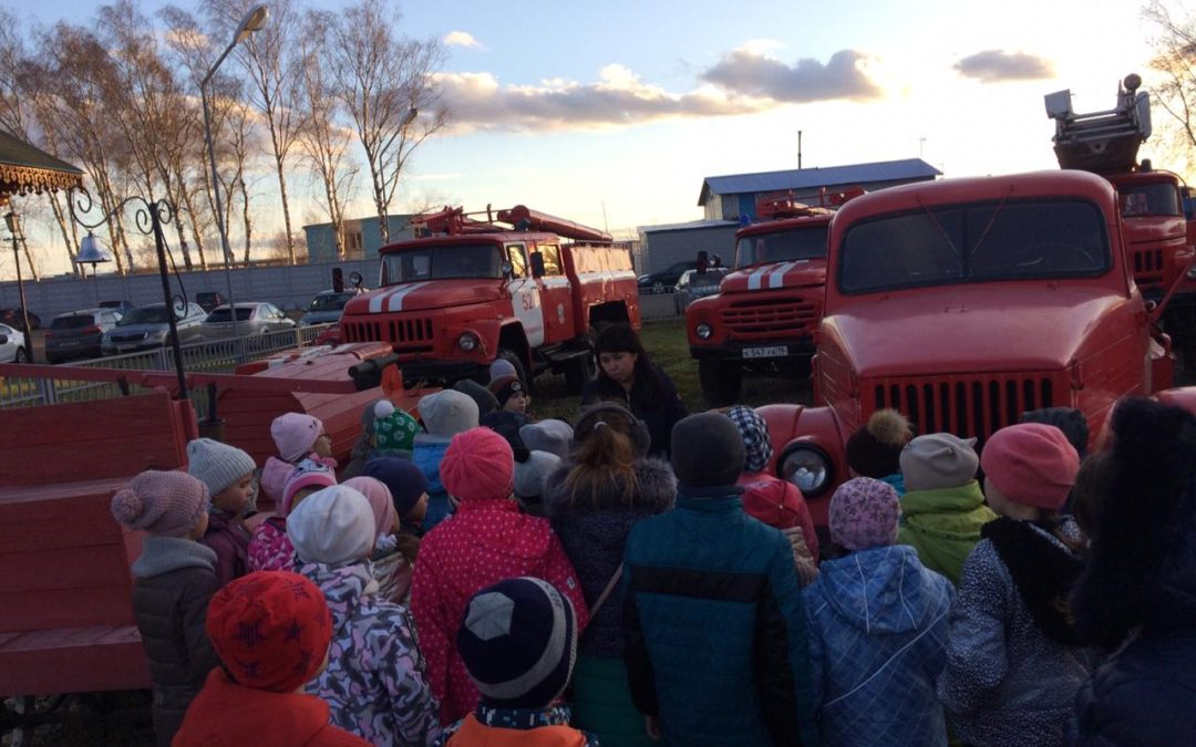Зеленодольские работники ВДПО проводят экскурсии в Музее пожарной охраны