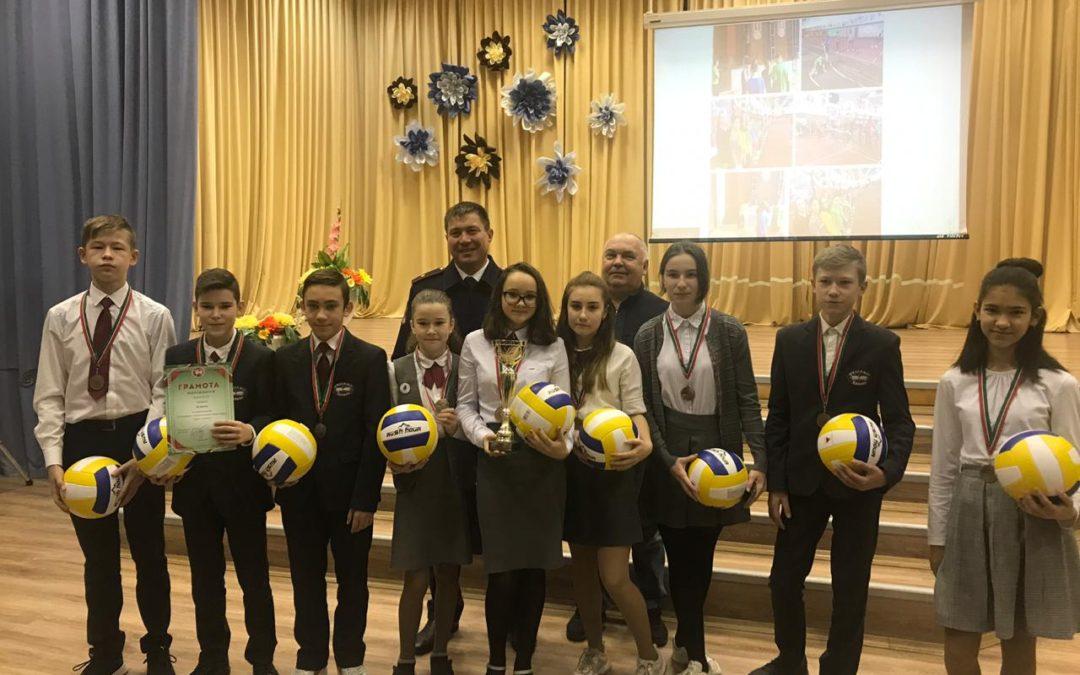 Награждение призеров соревнований по ПСС в г. Казани