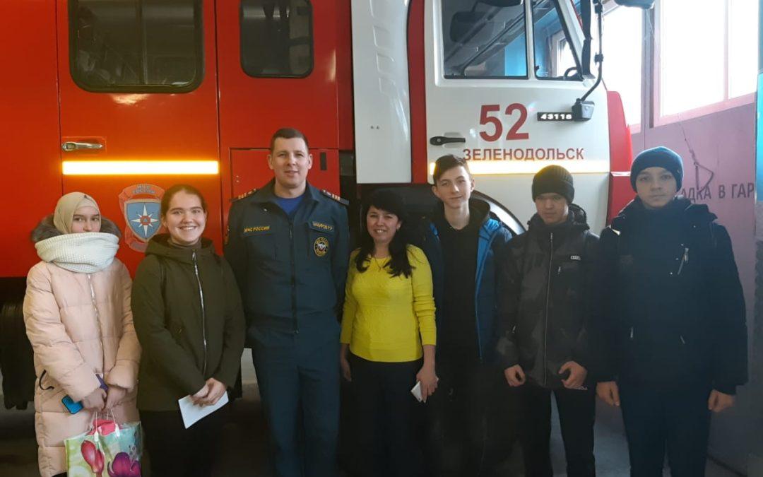 «Звезды эрудиции» в Музее пожарной охраны