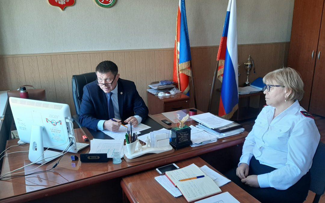Производственное совещание в ТРО ВДПО РТ
