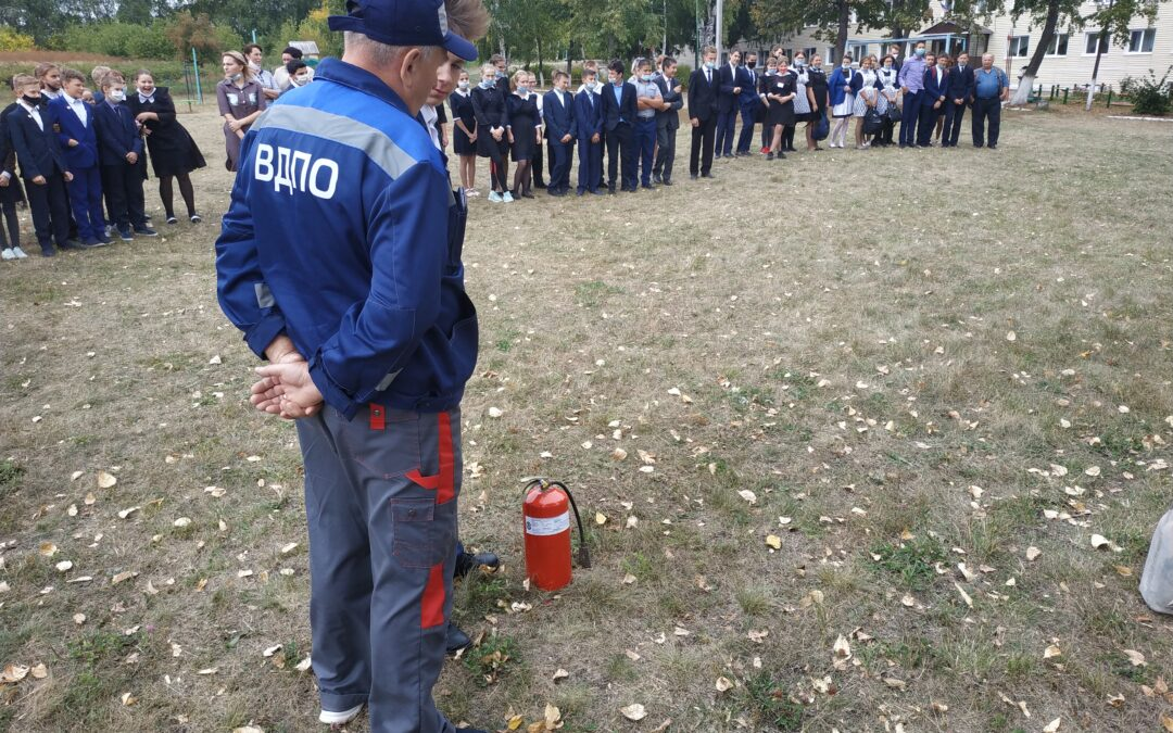 Месячник пожарной безопасности в Бугульме