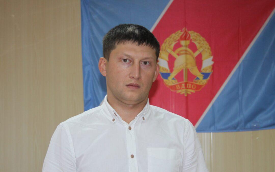 Зеленодольское  межрайонное отделение ТРО ВДПО возглавил  новый руководитель.