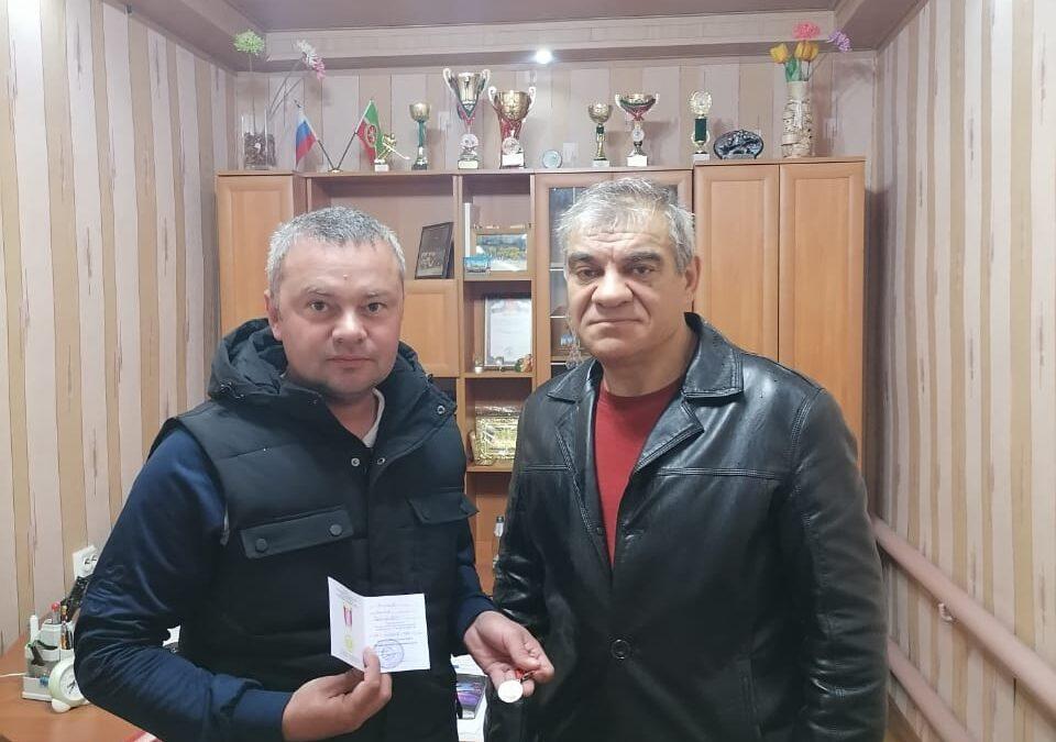 Награждение сотрудников в Сабинском районе