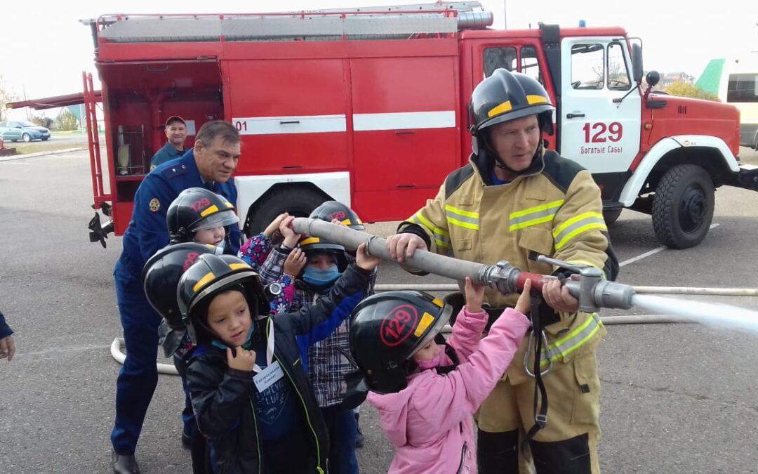 Уроки безопасности для дошколят в Сабинском районе