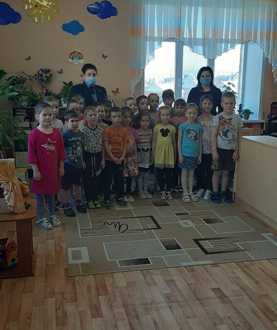 Профилактическая беседа в детском саду №58 «Нэни куллар» г.Альметьевска.