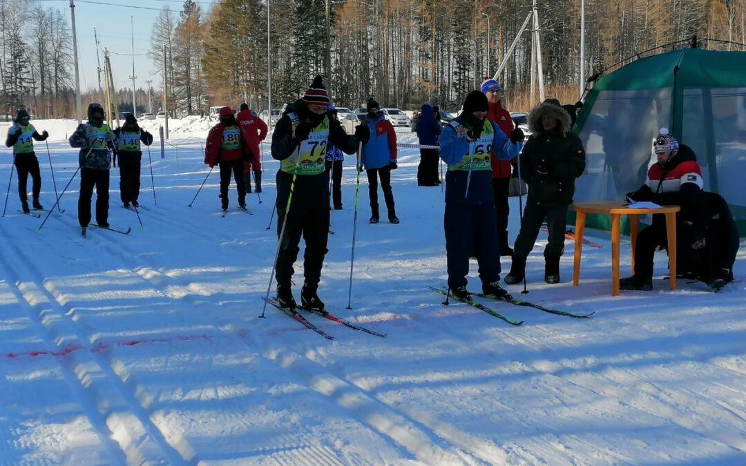 Сотрудники Сабинского отделения ВДПО приняли участие в соревнованиях по лыжным гонкам