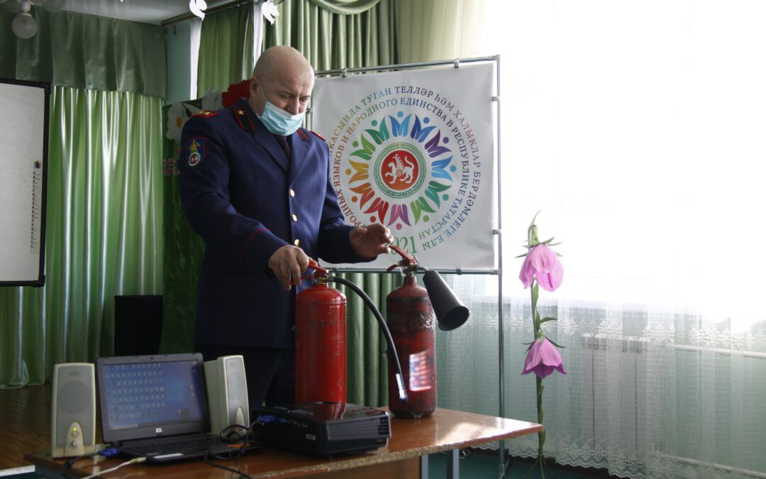 Полезное занятие для васильевских школьников.
