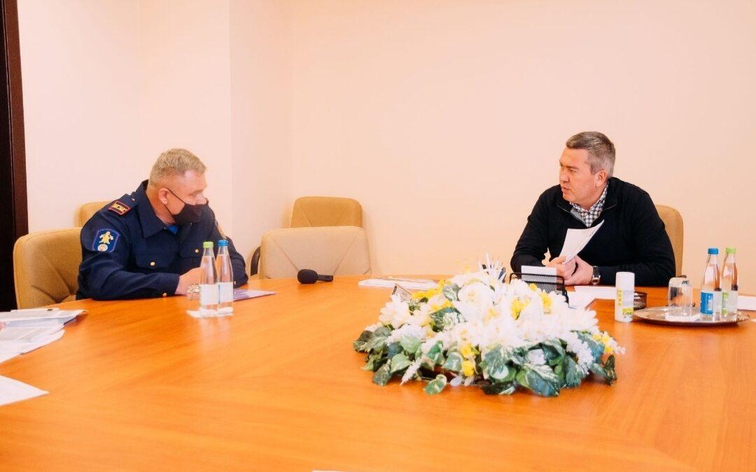 Встреча с главой Бугульминского района Закировым Л.Р.