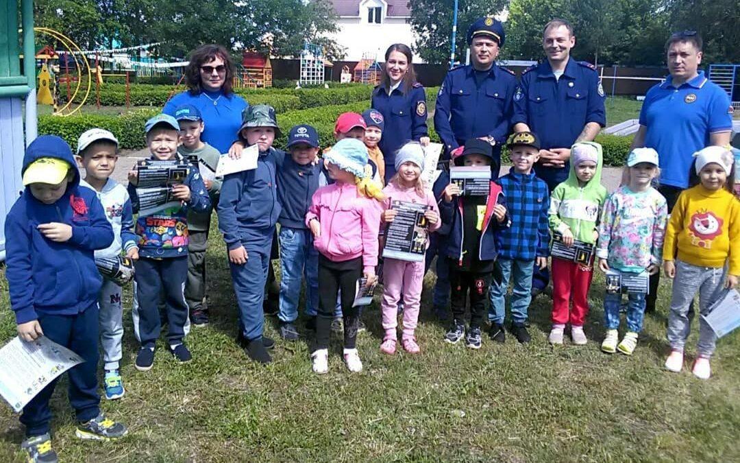 Урок пожарной безопасности в детском саду №5 г.Лениногорск