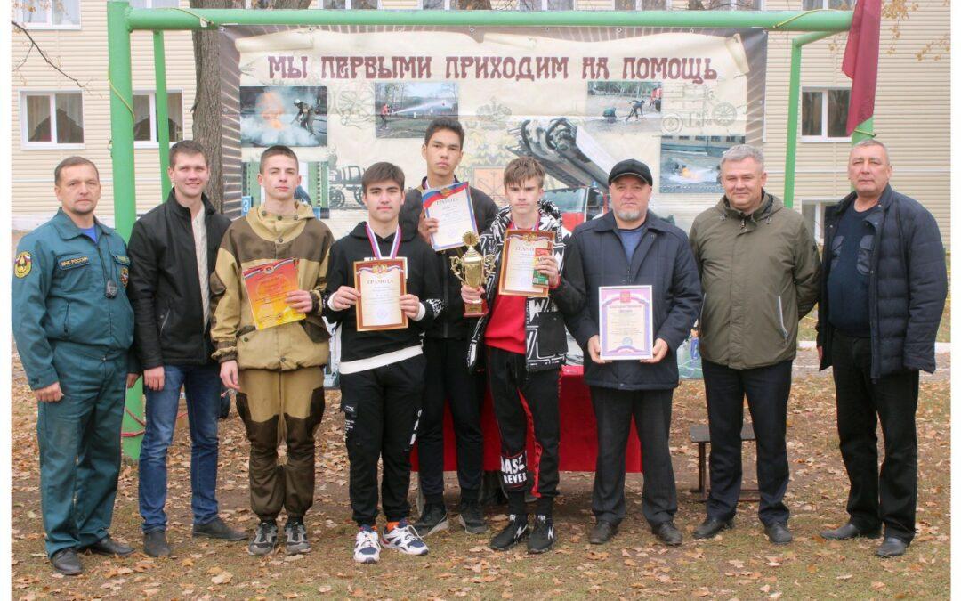 Соревнования по пожарно-спасательному делу в Бугульминском районе